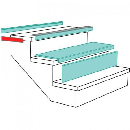 bande de chant 400x60mm 2 pi ces. Black Bedroom Furniture Sets. Home Design Ideas